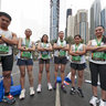 FILIPINO RUNNERS UAE at Dubai Marathon 2011