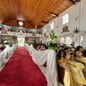 Den and Heide wedding at Church in the sky in Taytay