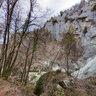 Above the canyon of 'Mala Rečina'
