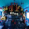 Interior of Steam locomotive JŽ 11-015 after restoration