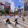 Intersection Shibuya Tokyo