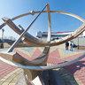 Novosibirsk planetarium - solar clock