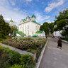 Florovsky convent  at summer, Kiev, Ukraine