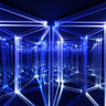 Introspectacular by Deniz Kurtel, blue lights