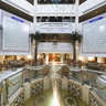 Meridian Hotel lobby-    