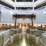 Meridian Hotel lobby-قاعة الاستقبال بفندق المدينة ميريديان