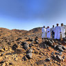 Top of Uhud Mountain-1 قمة جبل أحد