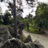 Laghetto dei Giardini Pubblici visto da Monte Merlo