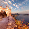Sunset in S.Anna ruins - Sestri Levante - Italy
