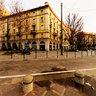 Tram in Corso Sempione a Milano