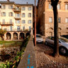 panorama dalle mura di Bergamo Alta