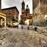 Torri della Garisenda e degli Asinelli a Bologna