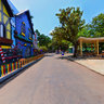 Colorful Walls Inside Essel world