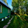 A green country house in Brekhovo, Tver' region