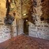 Escalier vers le clocher de l'église Saint-Léonard