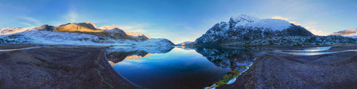 Serene Sunrise by Puma Cocha lake