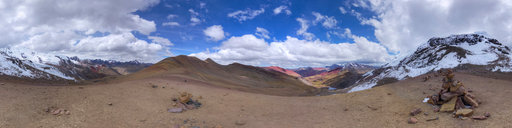 Multicoloured Landscapes from Palomani Pass