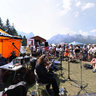CKUA at Canmore Folk Festival