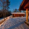 Bjertnes cabins near Noresund