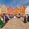 Norwegian Constitution Day,Bryggen, Bergen, Norway