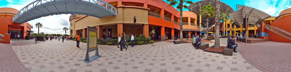 Dolphin Mall - entrance exterior