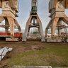 Old Harbour-cranes / Alte Hafenkraene