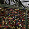 "Cologne, ""love locks"" on the bridge"