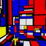 In a Mondrian cube