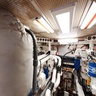 Knight & Carver 80' Yachtfisher - Engine Room