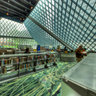 "Seattle Central Library ""Living Room"" space, Seattle WA"