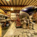 Museum of Flight Restoration Center, de Havilland DH106 Comet, Everett, WA