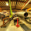 Museum of Flight Restoration Center, Voight F7U-3 Cutlass, Everett, WA