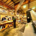 Museum of Flight Restoration Center, Grumman F4F Wildcat, Wings Up, Everett, WA
