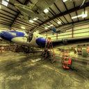Museum of Flight Restoration Center, Lockheed YO-3, Everett, WA
