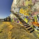 SoDo Free Graffiti Wall, Graffiti Stairway, Seattle, WA