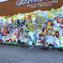 Georgetown Graffiti Wall, North End, Seattle, WA