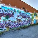 Georgetown Graffiti Wall, South End, Seattle, WA