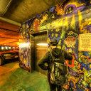 Anne Scrary Wall Mural, Pike Place Market Parking Garage, Seattle, WA
