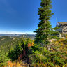 Thorp Mountain Fire Lookout, The Summit, Wenatchee National Forest, Washington State