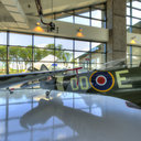 Messerschmitt and Spitfire, Evergreen Aviation and Space Museum, McMinnville, OR