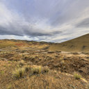 Between the Rains, Claystone Mounds, Painted Hills, Mitchell, OR