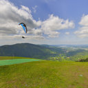 Paragliders, Poo Poo Point, Issaquah, WA