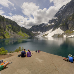 Lunch Rock, Lake Serene, Mt. Baker Snoqualmie National Forest, WA