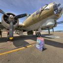 B-17 Nine-O-Nine, Nose View, Museum of Flight, Seattle, WA