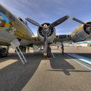 B-17 Nine-O-Nine, Nose Art, Museum of Flight, Seattle, WA