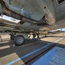 B-17 Nine-O-Nine, Engine View, Museum of Flight, Seattle, WA