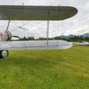 Boeing 40C at Daybreak, North Cascades Vintage Fly-In, Concrete, WA