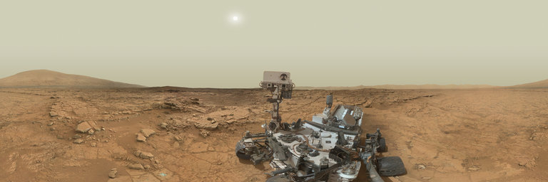Out of this World: Mars Panorama - Curiosity rover: Martian solar day 177
