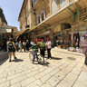 Jerusalem Old City Near The Holy Sepulchre Church