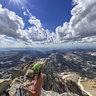 The Summit of Middle Teton